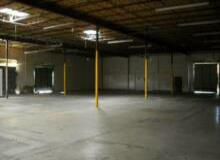commercial warehouse space rentals from 1,100 - 22,000 SF